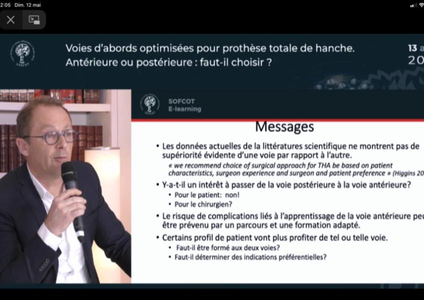 Dernière mise au point de la société française de chirurgie orthopédique
